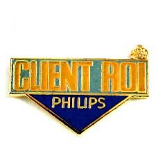 ピンズ・王冠お客様は王様フィリップス社