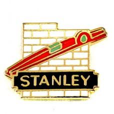 ピンズ・スタンレーの水平器レンガ工具