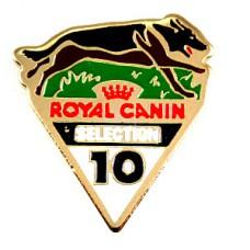 ピンバッジ・犬ドッグレース10番ロイヤルカナン餌
