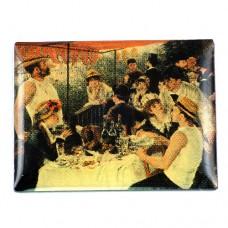 ピンバッジ・ルノワール画『舟遊びの人々の昼食』