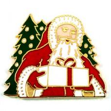 ピンズ・サンタクロースと贈物もみの木