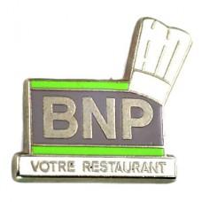 ピンズ・シェフ料理人帽子BNP銀行