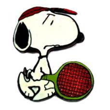 ピンズ・スヌーピーのテニス選手