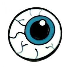 ピンズ・眼球片方ブルー青い目お医者さん医療
