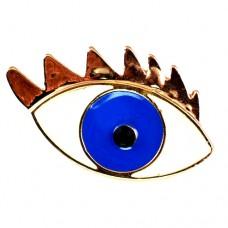 ブローチ・New!青い目瞳