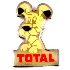 ピンバッジ・イデフィックス犬アステリックスBDバンドデシネ漫画トータル石油