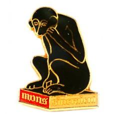 ピンズ・黒いサル猿