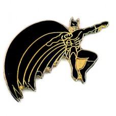 ピンズ・バットマン映画アメコミ漫画マントを広げて飛ぶ