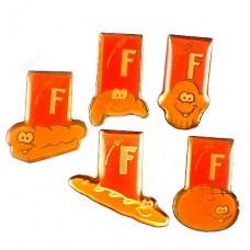 ピンバッジ・バゲットなどパン用小麦の穂F5個 FRANCE
