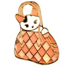 ピンズ・New!ハンドバッグと猫
