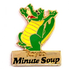 ピンズ・緑のワニ鰐スープ会社
