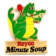 ピンズ・赤いスプーンと緑のワニ鰐スープの会社