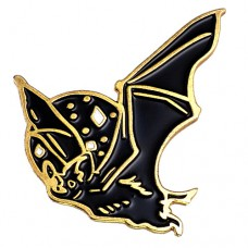 ピンバッジ・New!コウモリ羽ばたく蝙蝠