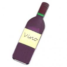 ピンズ・New!ワイン酒瓶1本
