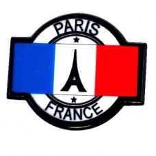 ピンズ・New!エッフェル塔パリ観光フランス国旗プラスチック製