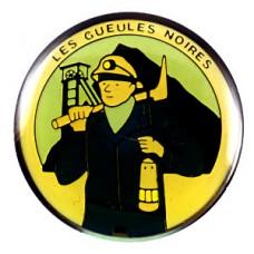 ピンバッジ・鉱山の鉱夫ランタン採掘道具