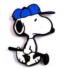 ピンズ・ゴルフするスヌーピー青い帽子