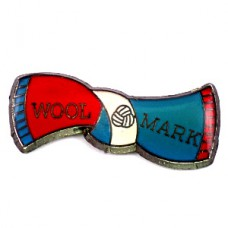 ピンズ・ウールマーク羊毛