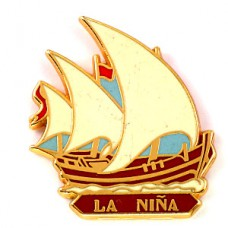 ピンズ・コロンブス大航海時代の帆船ニーニャ号
