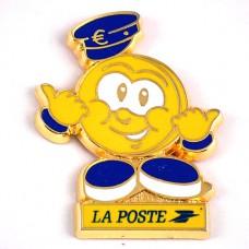 ピンズ・ラポスト郵便局のマスコットくん