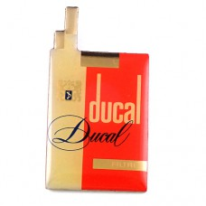 ピンバッジ・デュカル煙草タバコの箱
