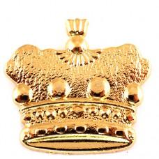 ピンズ・王冠ゴールド金色