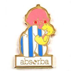 ピンズ・赤ちゃん子供服アブソーバ熊のぬいぐるみ黄色