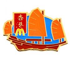 ピンズ・香港マクドナルド帆船ボートM