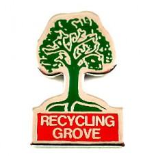 ピンズ・リサイクル緑の木