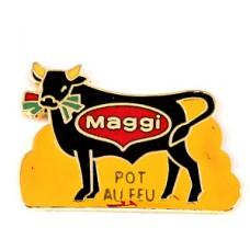 ピンズ・マギー社ポトフー草を食べる黒牛