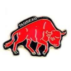 ピンズ・赤い牛ウシ星占い牡牛座おうし座