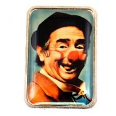 ピンズ・サーカス道化師ピエロ肖像ザヴァッタ赤い鼻
