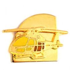 ピンズ・金色ヘリコプター航空機