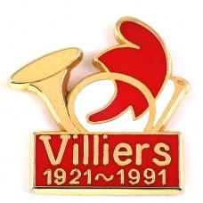 ピンバッジ・ホルン楽器フランス共和国の赤い帽子