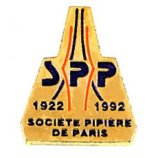 ピンバッジ・パリのパイプたばこのクラブ煙草エッフェル塔