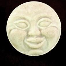 ピンズ・顔のあるお月さま陶磁器製