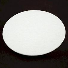 ピンバッジ・New!白い木5個1セット楕円形バタフライ型キャッチ付き