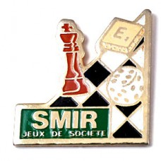 ピンバッジ・チェス盤サイコロ駒ゲーム道具