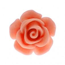 ピンズ・New!サーモン・ピンク色のローズ薔薇バラの花