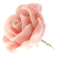 ピンズ・New!薄いピンク色ライトローズ薔薇バラの花