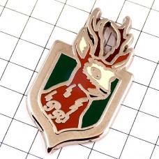 ピンズ・大きな角の鹿シカしか紋章