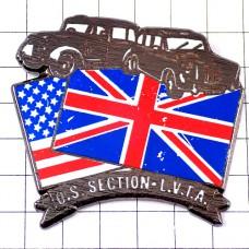 ピンズ・イギリス国旗アメリカ星条旗ビンテージ車タクシー英国
