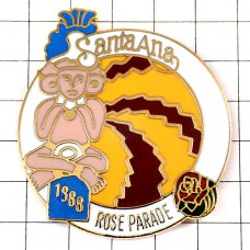 ピンズ・ローズパレード祭ネイティブアメリカン/USAカリフォルニア州