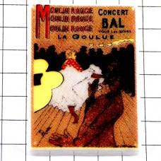 フェブ・ロートレック画ムーランルージュのラグーリュ踊り