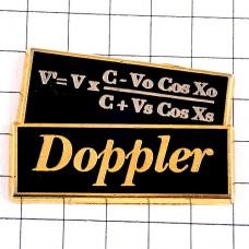 ピンバッジ・数式ドップラー効果