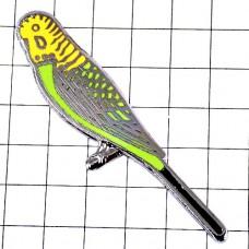 ピンズ・緑色の胸の小鳥