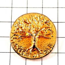 ピンズ・金色の木ゴールド歯医者さん