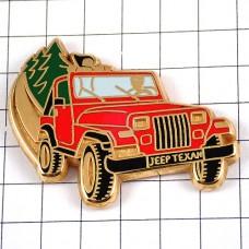 ピンズ・ジープ赤い車