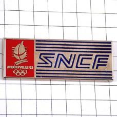 ピンズ・SNCF鉄道アルベールビル冬季五輪オリンピック赤