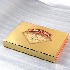 ピンバッジ・シャンパーニュ3個マム紙箱付きシャンパン酒